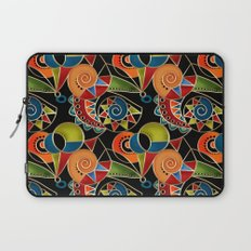 Abstraction - Carnival Laptop Sleeve