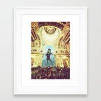 scuba Framed Art Prints featuring scuba by Caroline A