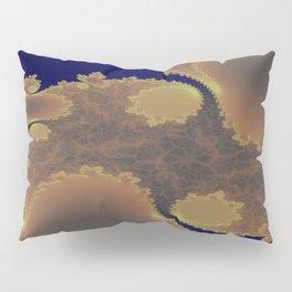 Pinkbrown(blue) Pattern 11 (Fractal) Pillow Sham