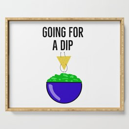 Going for a Dip - Guacamole Serving Tray