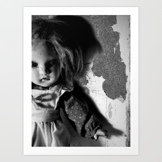 Old Doll 8-21-2007 060 Art Print