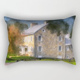 If These Walls Could Talk Rectangular Pillow