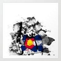 "Colorado ""State Trooper""  Art Print"