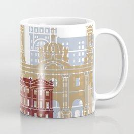 Montevideo skyline poster Coffee Mug