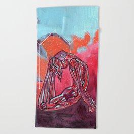 Scorpio | Yoga Art Beach Towel