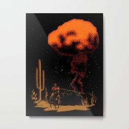 Atomic Cowboy Metal Print