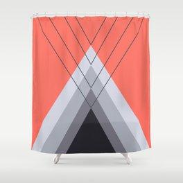 Iglu Living Coral Shower Curtain