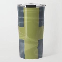 Silk Flag of Saint David Of Wales Travel Mug