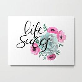 Life succs n.1 Metal Print