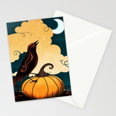 Halloween Is In The Air Stationery Cards