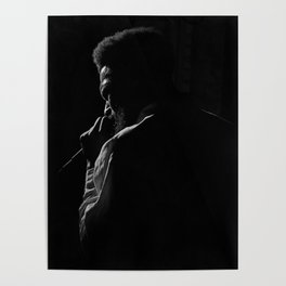 Soulful Silhouette Poster