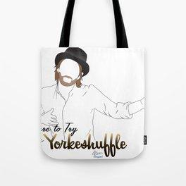The Yorkeshuffle Tote Bag