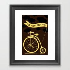 The Avett Brothers  Framed Art Print