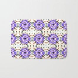 Tender lilac flowers Bath Mat
