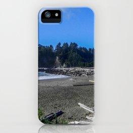 First Beach, La Push, Washington iPhone Case