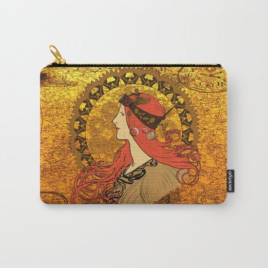 Steampunk Nouveau Carry-All Pouch