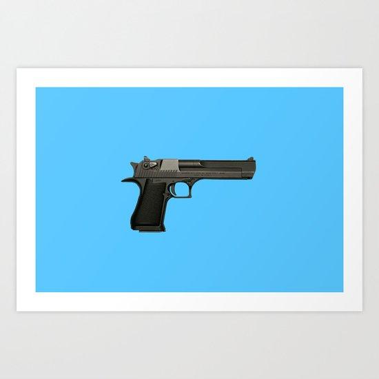 Guns In America 3 Art Print