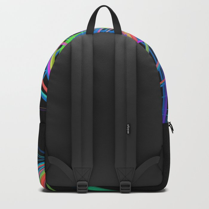 Colorful Rainbow Prism Backpack