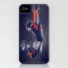 DARK FOOTBALL iPhone (4, 4s) Slim Case