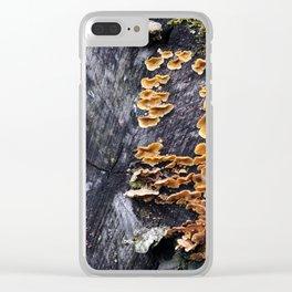 Stump 9 Clear iPhone Case