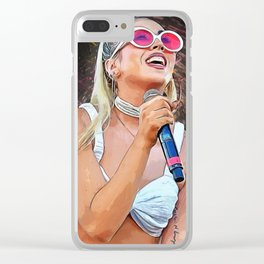 Kali Uchis Clear iPhone Case