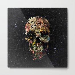 Smyrna Skull Metal Print