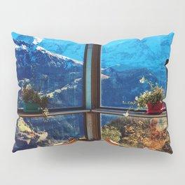 Swiss Alps Looking Glass Pillow Sham