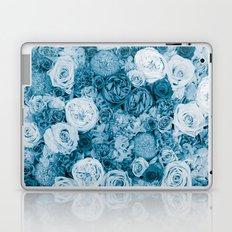 Bouquet ver.bluegreen Laptop & iPad Skin