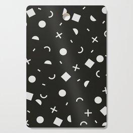 Black & White Memphis Pattern Cutting Board