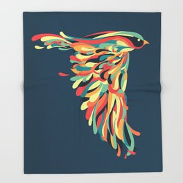 Downstroke Throw Blanket