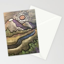 Missing the Mountains Stationery Cards