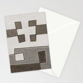 Protoglifo 10 Greyish approaching Stationery Cards