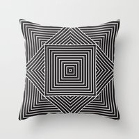 inception Throw Pillows featuring Hypnotize Inception by Bee Oh Zee Oh