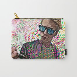 Man Smoking Pot and Getting High Carry-All Pouch