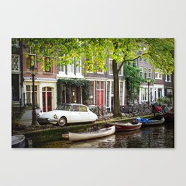 AMSTERDAM / End of Summer Canvas Print