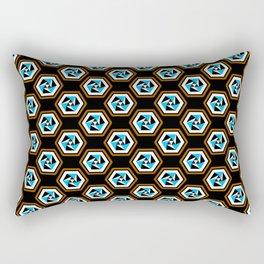 Sixth Side Mystery Rectangular Pillow