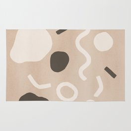 Abstract Confetti Rug