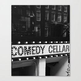 New York Comedy Cellar Canvas Print