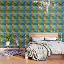 the blue color is arguing with the green color Wallpaper