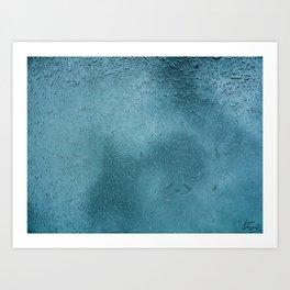 The Drops Art Print