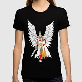 Knights Templar Angel  T-shirt