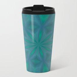Aurora In Jade and Blue Travel Mug