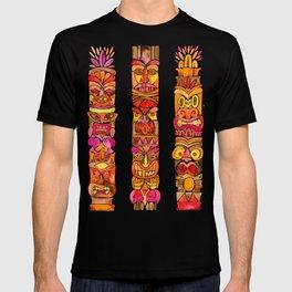 Tiki Totems – Fiery Palette T-shirt
