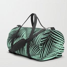 Palm Leaves - Mint Cali Vibes #1 #tropical #decor #art #society6 Duffle Bag