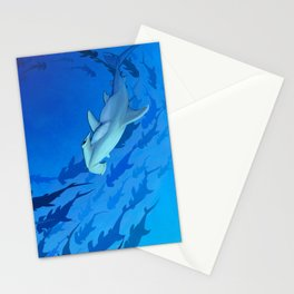 Shark week _The Hammer Stationery Cards