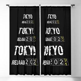 Tokyo Reload Timer 2001 Blackout Curtain