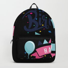 Happy birthday to you Backpack