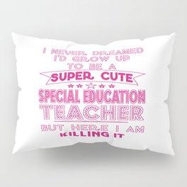 Super Cute Special Education Teacher Pillow Sham
