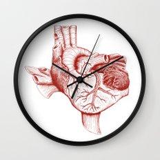 The Heart of Texas (Tech) Wall Clock
