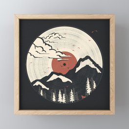 MTN LP... Framed Mini Art Print